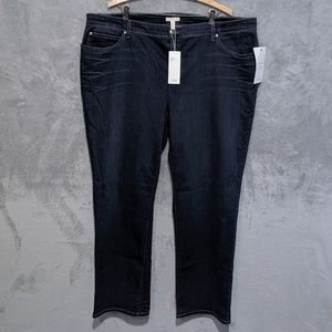 Eileen Fisher blue straight jeans